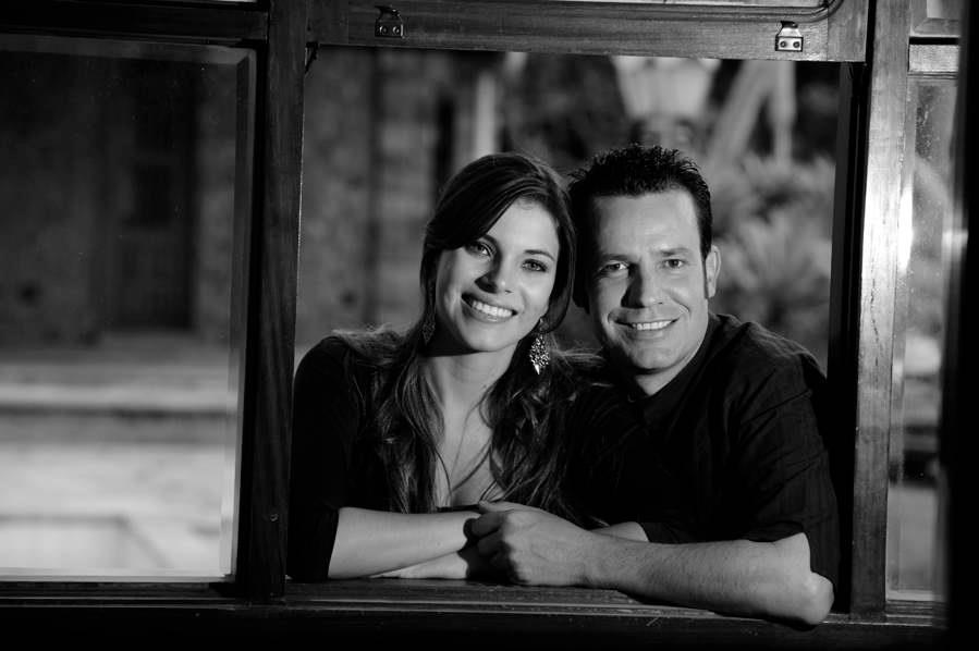 Os idealizadores do filme, Érica de Paula e Eduardo Chauvet Foto: Divulgação