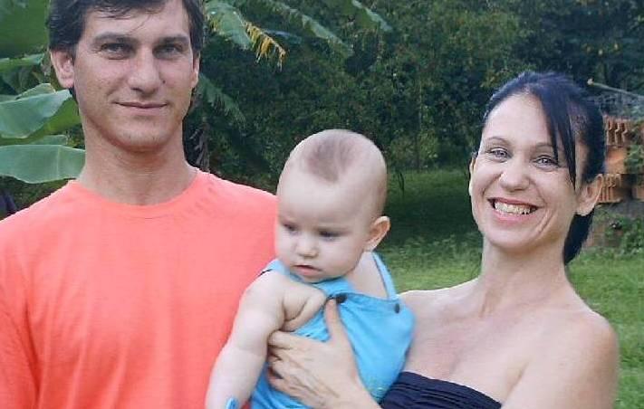 O casal é só alegria com a chegada do filho Gabriel Foto: Arquivo pessoal