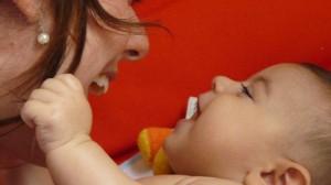 Foto: Arquivo pessoal Brincando com a mamãe