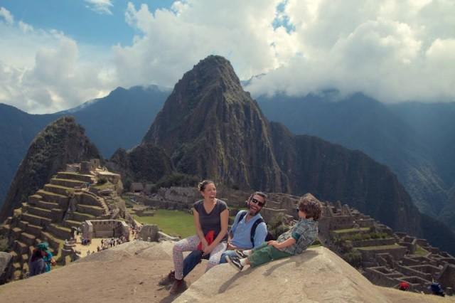 Uma parada em Machu Pichu. Vida boa, não?!