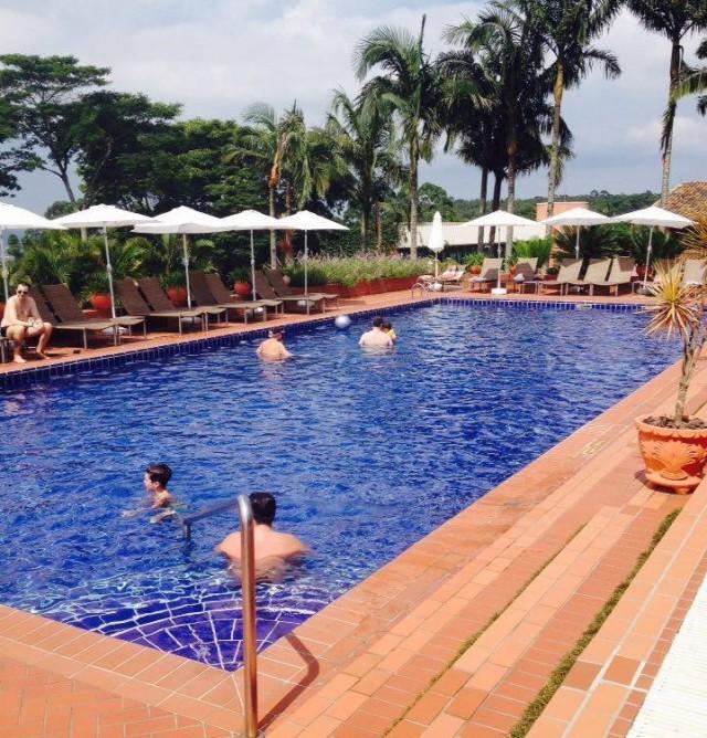 Hotel Villa Rossa - piscina