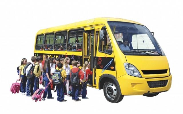 transporte escolar crianças