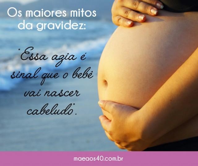 mitos da gravidez