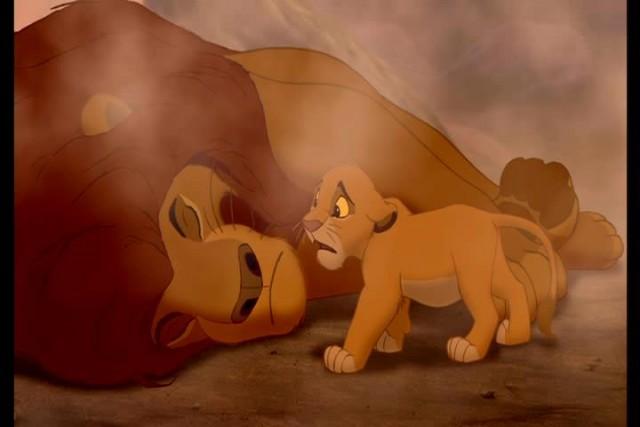 rei leão morte