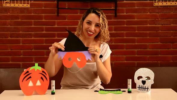 A blogueira Mislene Rocha, do Céu de Borboletas, ensina a fazer essa máscara linda