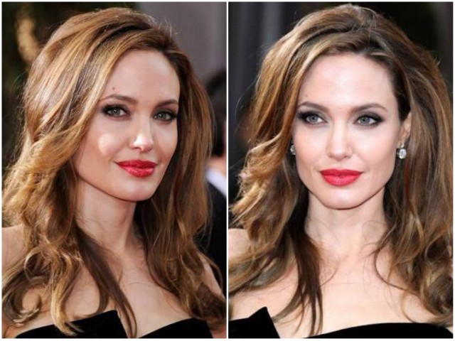 hair contour angelina